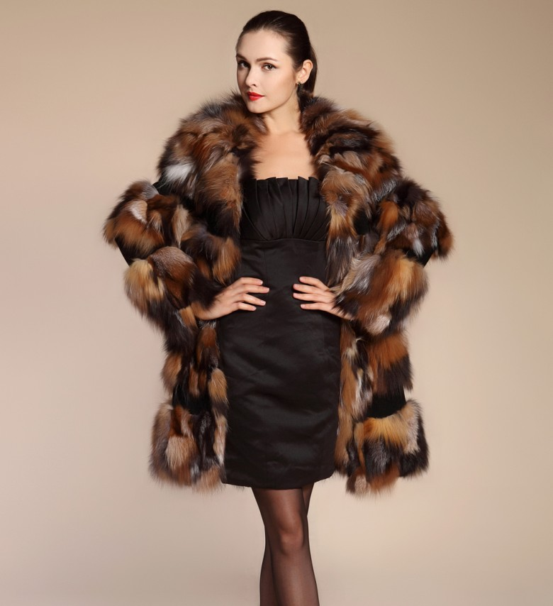 Aliexpress.com : Buy Luxury Real Fur Coat Woman Genuine Fox Fur Coats For  Women's Coat Natural Furs Long Fur Jacket Overcoat Large Size 5XL from  Reliable ... - Aliexpress.com : Buy Luxury Real Fur Coat Woman Genuine Fox Fur