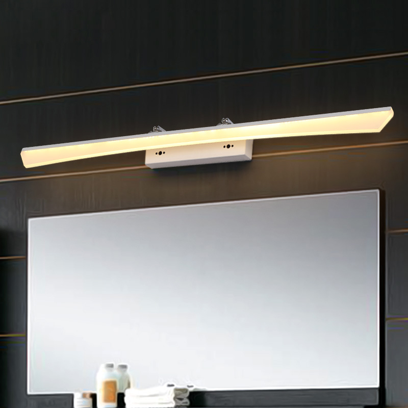 8W-24W 400-1200mm Modern Bathroom Led Mirror Light Indoor Waterproof Led For Bathroom Wall Sconce Lamp Apliques De Pared Luz modern 8w 720lm 5000k 8 led up