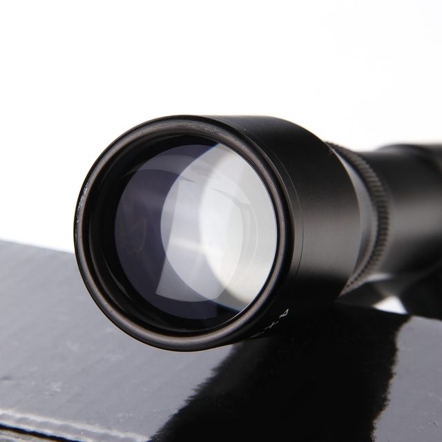4X32 Adjustable  Optical Sight Etched Glass Tactical Riflescope Reticle Sight Scope for Shotgun Rifle Hunting  3