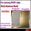 1 компл. 2 шт. ОСА Алюминия Плесень Для Samsung Galaxy S6 край G9250 плюс G9280 ЖК-Стекла Позиционирования и нажмите выравнивание Moul