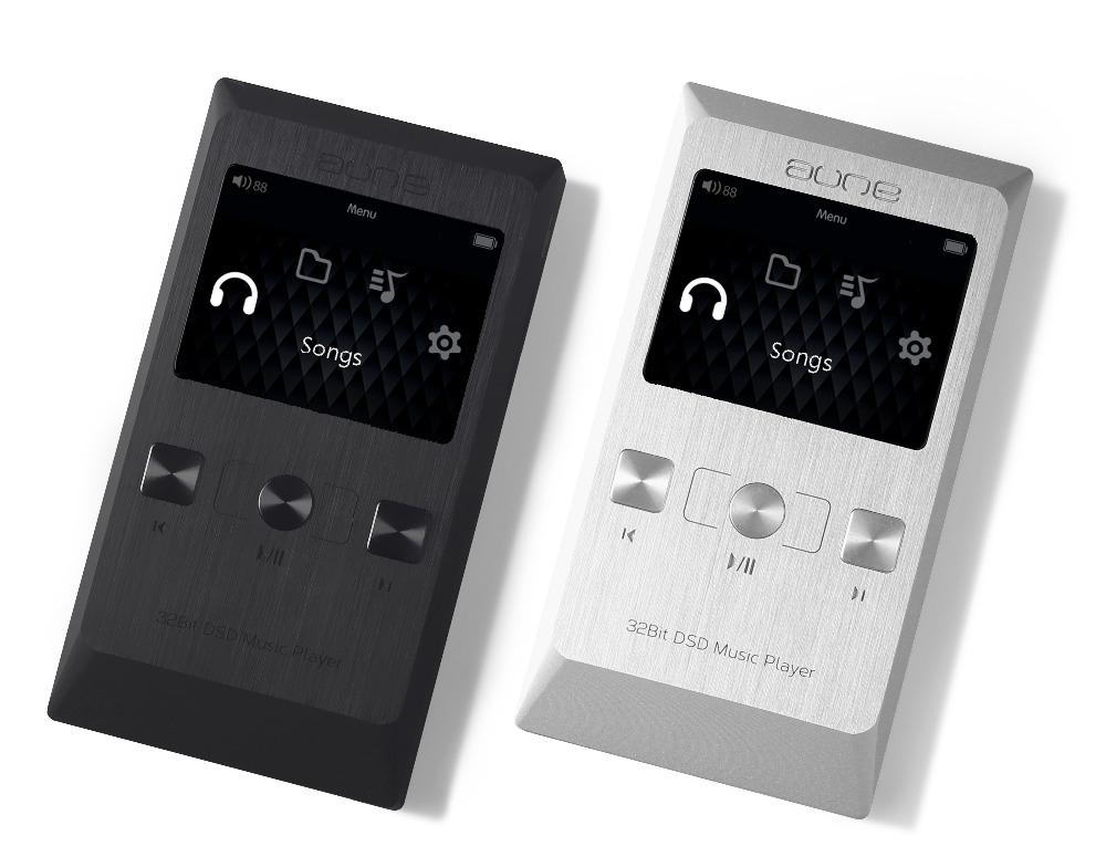 Aune M2 Pro Aktualisierte Version 32bit Dsd Militärischer Ebene Dual Femto-zweite Uhr Klasse A Tragbare Verlustfreie Hifi Musik Player Mp3 ZuverläSsige Leistung Mp3-player