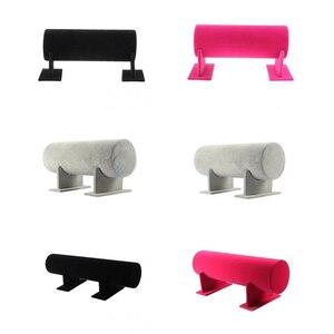 Image 5 - Samt Stirnband Haar Verschluss Display ständer Rack Frauen Stirnband Diademe Halter Schmuck Ständer für Shop Versorgung Zähler Schaufenster