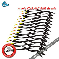 MAVIC CXR 60c bike stickers road bike wheelset decals 60mm rim depth carbon rim stickers