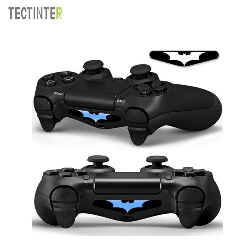 Batman PVC Vinyl Sticker Skin Custom For Playstation 4 LED Light Bar Decal Cover for PS4 For Dualshock 4 Controller Accessrio
