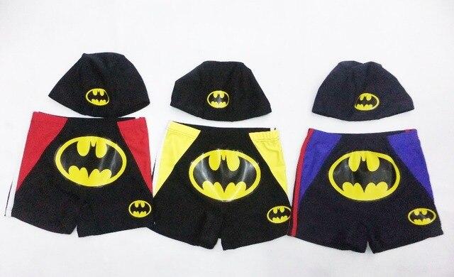 age:2-7 years boy batman beach shorts,kid trunks,baby batman Prevent bask in clothes