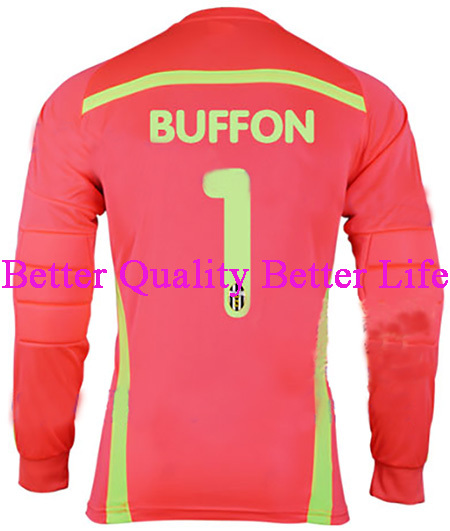half off 22d58 77453 New Arrival Three Colors Buffon Goalkeeper shirt Buffon ...