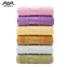 цена на Bamboo Towel Set Antibacterial Small Face Towel 34*74cm 110g Large Bath Towel 70*140cm 410g Bamboo Fiber Fluffy Bathroom Towels