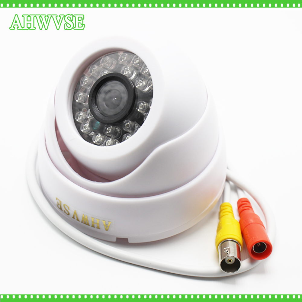 1200TVL CCTV Camera Security Color CMOS IR Filter Night Vision Day Night Indoor Camera Dome Camera IRCUT Video Surveillance hd 1200tvl cmos ir camera dome infrared plastic indoor ir dome cctv camera night vision ir cut analog camera security video cam