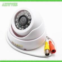 HKES HD 1200TVL CMOS Security CCTV Dome Camera IR Color with 3.6mm 1080p Lens