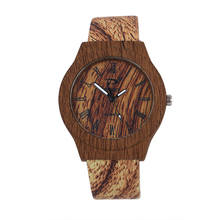 reloj mujer New Arrival Brand New Wooden Wrist Watch For Men Ladies Rome Numbers Dial Quartz Watches Relogio Feminino wristwatch