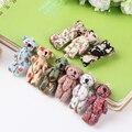 50 шт./лот оптовая продажа поделки ручной работы ювелирных изделий небольшой мини-медведь игрушки куклы плюшевого мишку