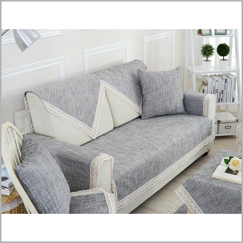 cotton linen sofa cover modern solid sofa covers modern