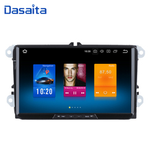 Dasaita 9 «Android 8,0 автомобиль gps радио для сиденья Леон Альгамбра Altea Толедо с Octa Core 4 ГБ + 32 ГБ авто стерео Мультимедиа