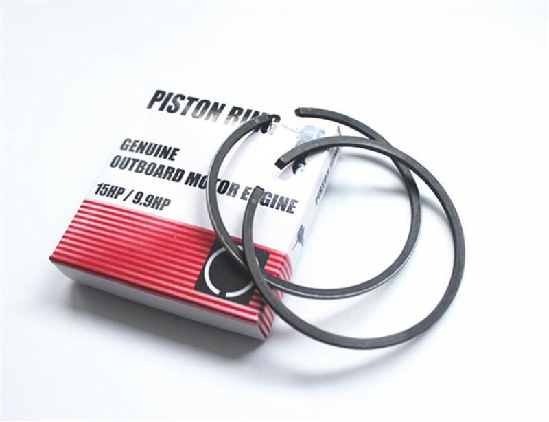 Piston Ring Set (STD) for Yamaha Parsun Powetec 9.9HP 15HP 63V outboard 682-11610-01-00 engine boat motor part 682-11610