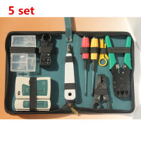 5 set 11 in 1 Maintenance of computer networks Toolkit suite room network Computer Repair Kit Tool Set Free Shipping