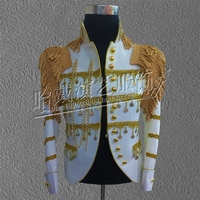 S 6XL!! 2018 Men bar acting clothing menswear star in same stage costumes customization