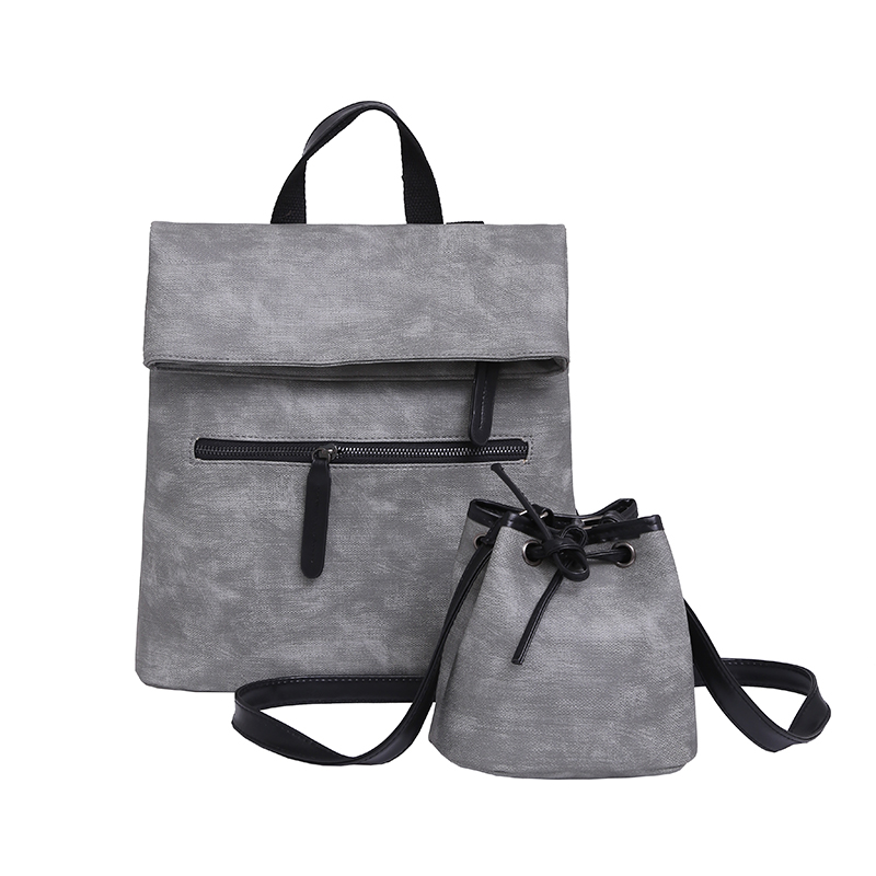 Designer Women Messenger Bags Multifunctional Women Mochila Escolar Top PU Leather Shoulder Bags L116