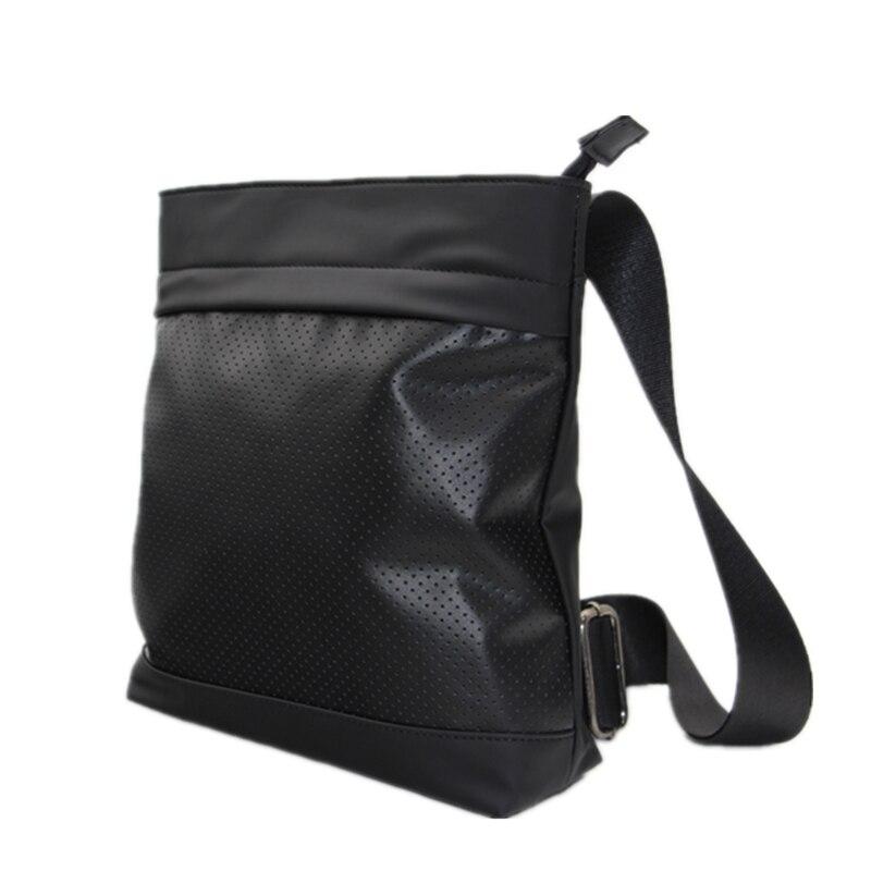 HOT New 2019 designer bags famous brand man handbags men's travel bags men messenger bags PU leather hollow out shoulder handbag
