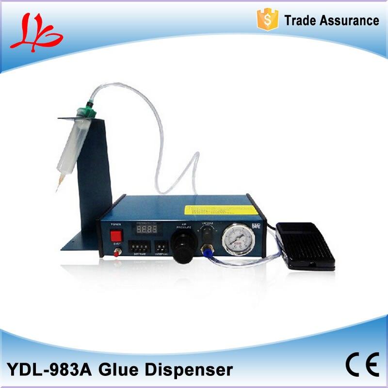 лы 983A цифровой приурочен распределителя воздуха клей, плюс функция дозирования цикла машину для телефона ремонт