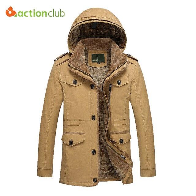 Новое Прибытие Зимняя Куртка Мужчины Большой Размер 5XL 6XL Теплая Куртка Для Мужчин Ветрозащитный Капюшоном Случайные Пальто Утолщение Хлопка Куртки