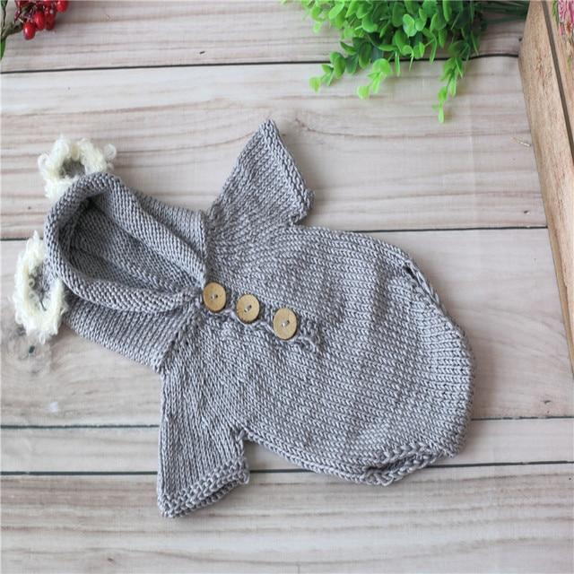 Recién nacida encantadora Koala capó establece ganchillo del knit ...