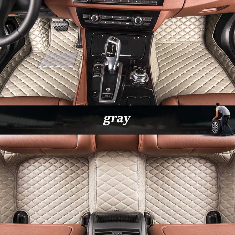 مخصص سيارة الحصير ل BMW جميع نماذج X3 X1 X4 X5 X6 Z4 f30 f10 f11 f25 f15 f34 e46 e90 e60 e84 e83 e70 e53 g30 e34 f48 e39