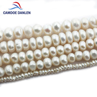 CAMDOE DANLEN Natural Freshwater Pearl Beads 3 11mm 1 Strand Diy For Jewelry Making Necklace Bracelet