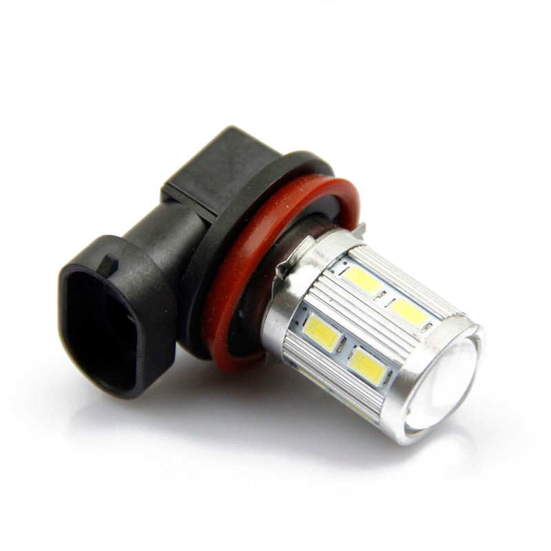 kongyide Healight Bulbs 2x Car H11 5W 12 LED 5630 SMD Fog Running Light Lamp Bulb Xenon White NOV10