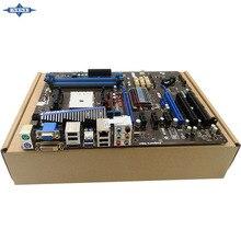 Original Usado madre De Escritorio De msi A75A-G55 A75A soporte Socket FM1 4 * DDR3 apoyo 32G 6 * SATA3 USB2.0 ATX