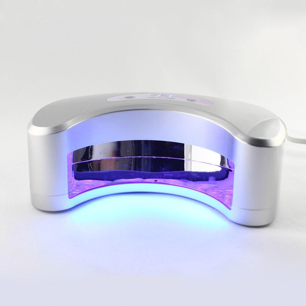 12PCS/Lot  18W LED UV Gel Curing Lamp Moonlight Nail Curing Light With EU Plug E0279X