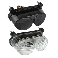 Luz trasera de freno de las señales de giro luz LED integrada para Kawasaki ZR7S 2000  2001  2002  2003 ZX6R J1/J2 ZX-6R G1/G2 1998-2002
