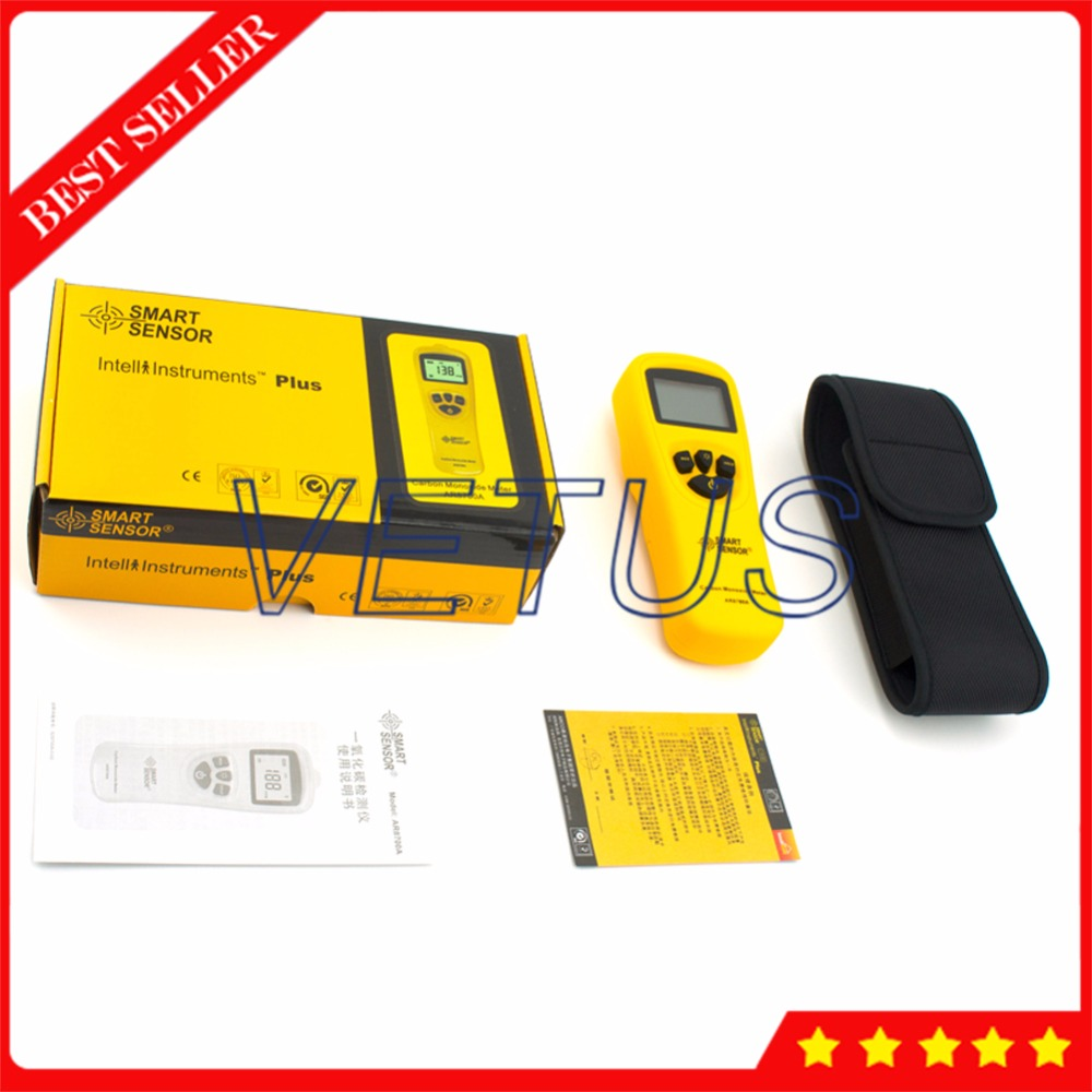 AR8700A Digital tester portable carbon monoxide meter with handheld CO Gas Detector analyzer Data Hold Function