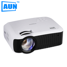 AUN Projecteur T30 LED Projecteur 1280X720 Intégré Dans Android 4.4 WIFI Bluetooth Beamer Soutien DLAN Airplay Sync avec Téléphone PC