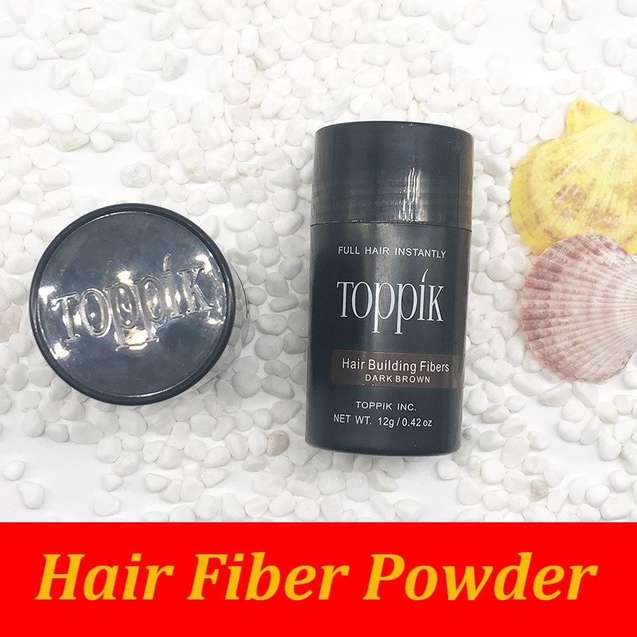 9 colors Beauty Salon Instant Regrowth Essence Hair Keratin Fiber Building 12g Toppik Hair Powder Bottle OEM Factory