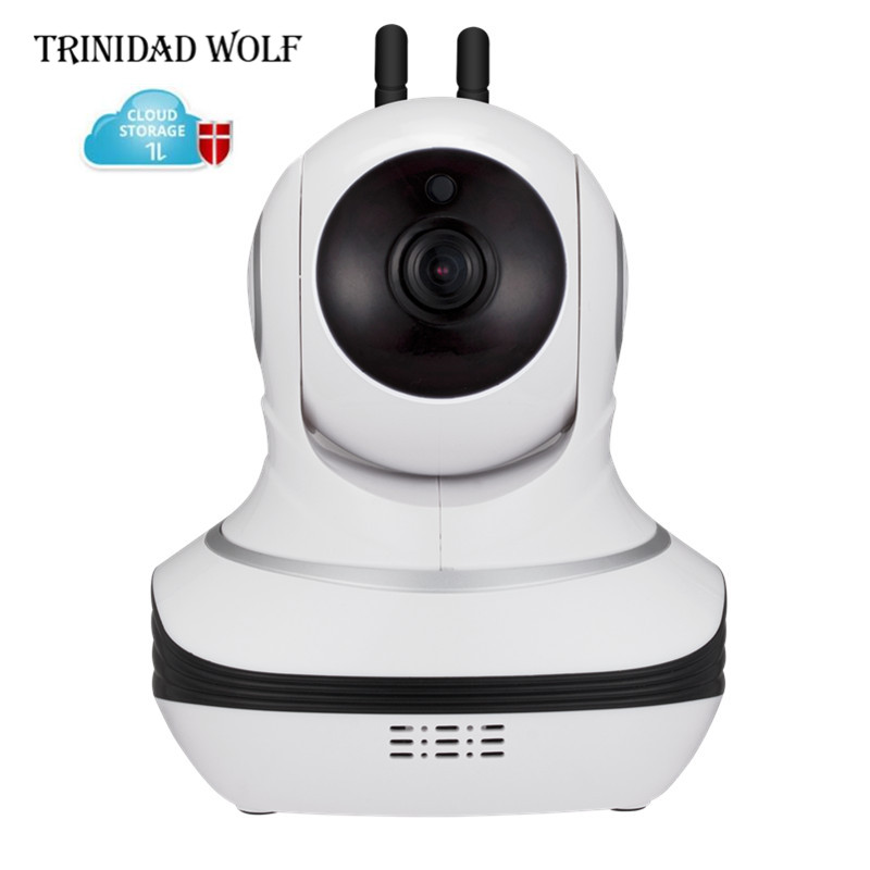 TRINIDAD WOLF 1080P Wifi Cloud IP Camera Security Night Vision IR Two Way Audio Smart CCTV Surveillance Wireless IP Camera P2P kerui 1080p cloud storage wifi ip camera surveillance camera 2 way audio activity alert smart webcam
