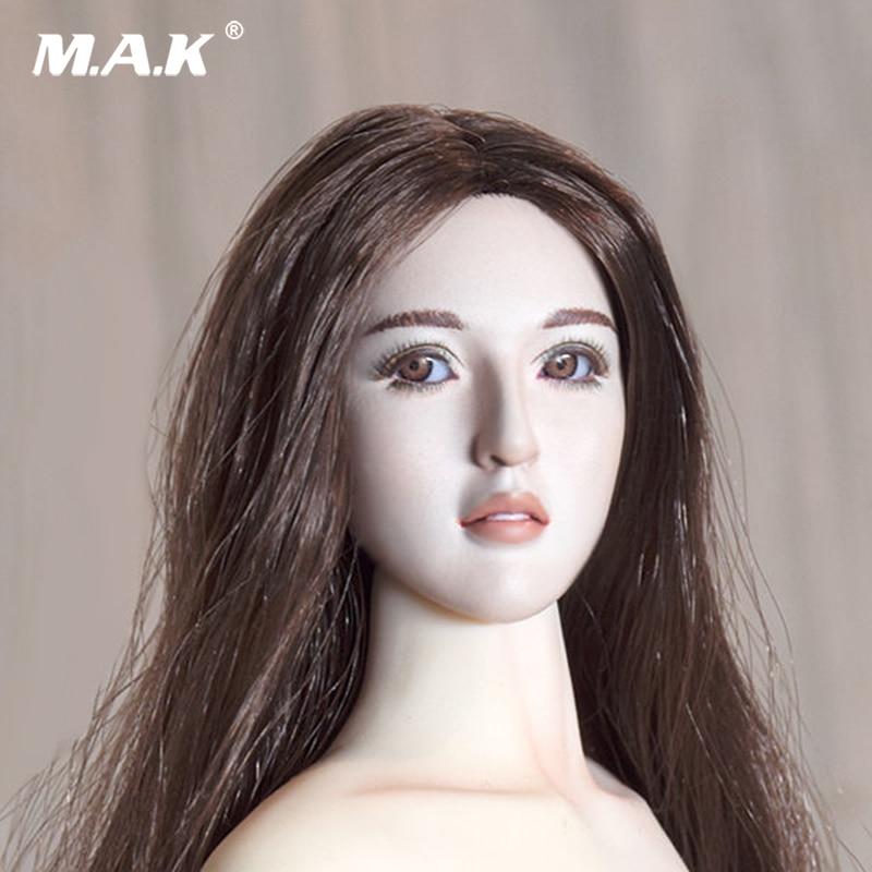 Чудо-любитель серии 001. Luna V2.0 1/6 Весы Женский Глава Sculpt w движимого Средства ухода для век для женщин бледно-Коло фигурку куклы