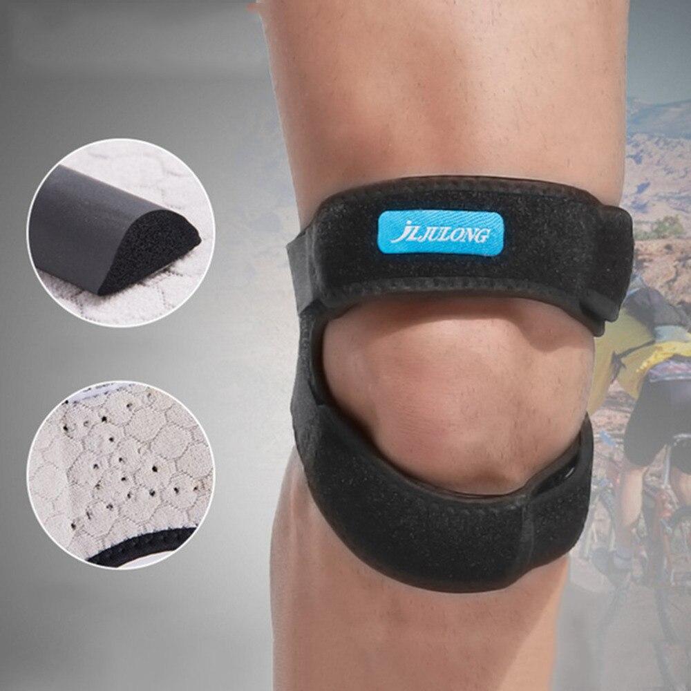 2018 Adjustable Compression Sport Gym Running Patella Band Knee Support Guard Sport Safety Patellar Belt Knee Protective Brace