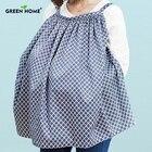 Green Home Breastfeeding Nursing Cover Baby Infant Cotton Nursing Breastfeeding Scarf plus size Nursing Scarf Cover for Feeding