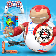 Star Wars RC Robots BB-8 iron Man Compatible Control BB8 robot toy Action Figure Robot Intelligent Child birthday gift 2 4g remote control bb 8 robot upgrade rc bb8 robot with sound and dancing action figure gift toys intelligent bb 8 ball toy 01