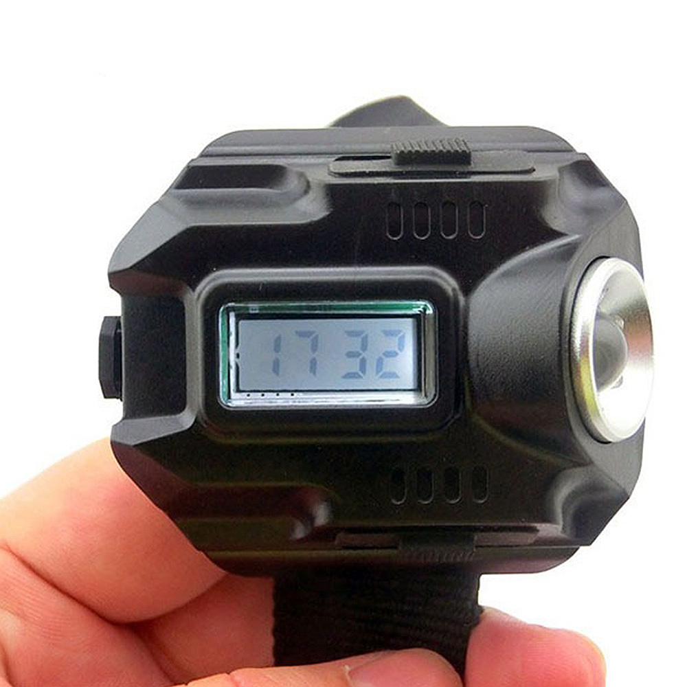 Wrist Light LED Watch Torch USB Charging Tactical Rechargeable Flashlight