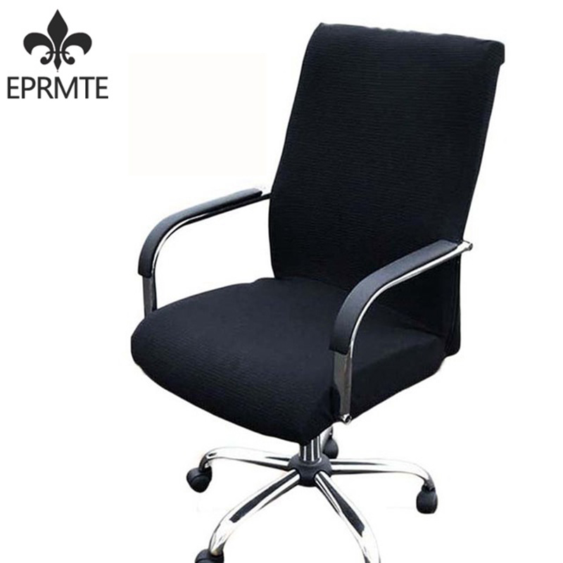 elasticity Office Computer Chair Covering Side Arm Chair Cover Recouvre Chaise Stretch seat covers for computer chairs