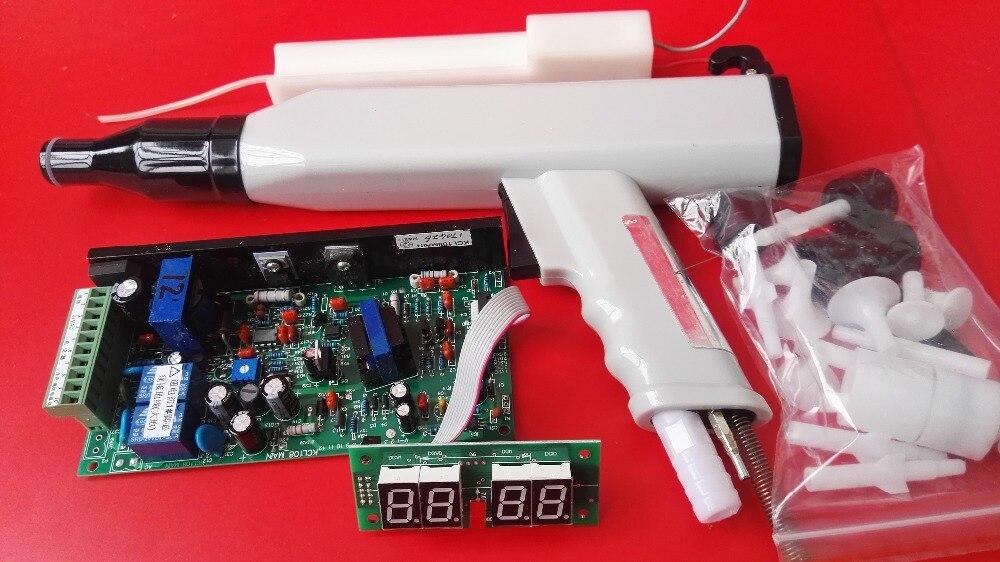Ensemble manuel système de revêtement en poudre électrostatique revêtement en poudre pistolet pour KCI 108 poudre revêtement machine