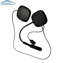 VODOOL Bluetooth мотоцикл шлем гарнитуры Беспроводной шлем наушники стерео Динамик рук-свободный наушники стайлинга автомобилей