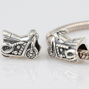 2eeef12ed Silver motorcycle charms 925 sterling silver big hole beads Fits for Pandora  Bracelets free shipping-in Beads from Jewelry & Accessories on  Aliexpress.com ...