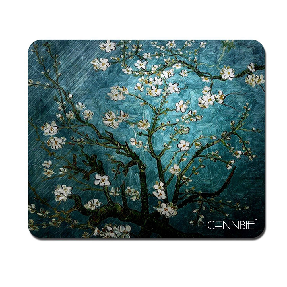 22x17CM Gaming Mouse Pad Non-Slip Rubber Base Lock Edge Speed Surface Mouse Mat For PC Laptop Computer