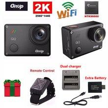 Gitup Git2 Новатэк 96660 1080 P WiFi 2 К Спорт На Открытом Воздухе Действий Камеры + Пульт Дистанционного Управления + Дополнительная 1 шт. аккумулятор + Зарядное Устройство