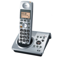 1 Handsets KX TG1031S Digital Telephone 1 9 GHz DECT 6 0 Cordless Phone With Answering