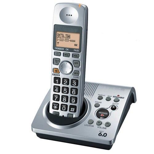 imágenes para 1 Auricular KX-TG1031S teléfono 1.9 GHz digital DECT 6.0 teléfono Inalámbrico con contestador automático