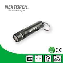NEXTORCH Flashlight 130 Lumens CE RoHS Waterproof CREE Light Shockproof Portable LED EDC Keychain Flashlight #K20