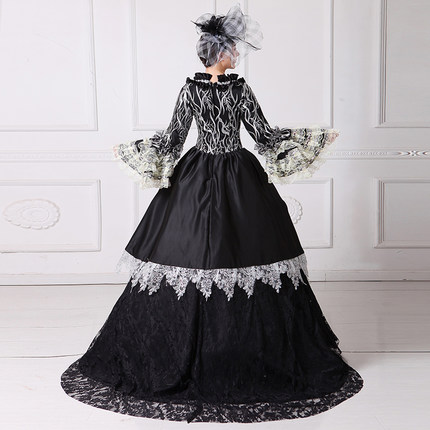 luxury Black Swan queen gown vintage ball gown royal Medieval Renaissance  Victorian dress Belle ball on Aliexpress.com  c28f191c0202